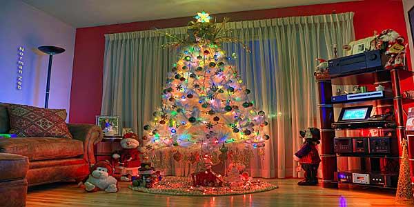 Как украсить к Новому году помещение