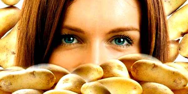 Маски для лица из картофеля в домашних условиях