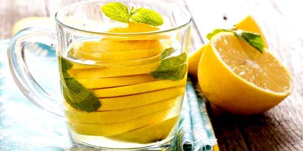 лимон с водой фото