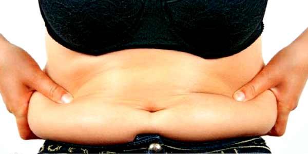 Почему внизу живота скапливается жир