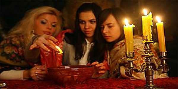 Святочные обряды и способы гаданий