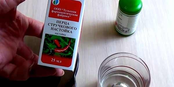 Красный перец с репейным маслом от выпадения волос