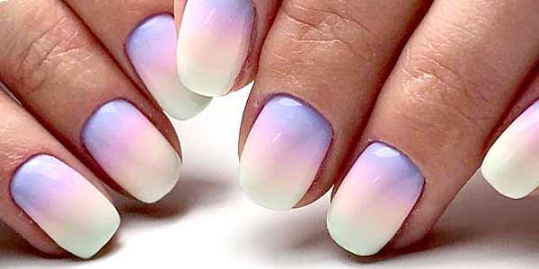 Омбре – дизайн ногтей
