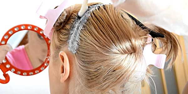 Как самой покрасить корни волос в домашних условиях