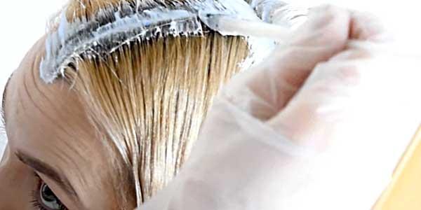 окрашиваем корни волос самостоятельно фото