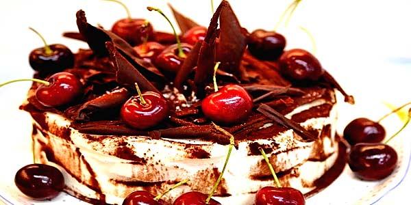 Торт пьяная вишня фото