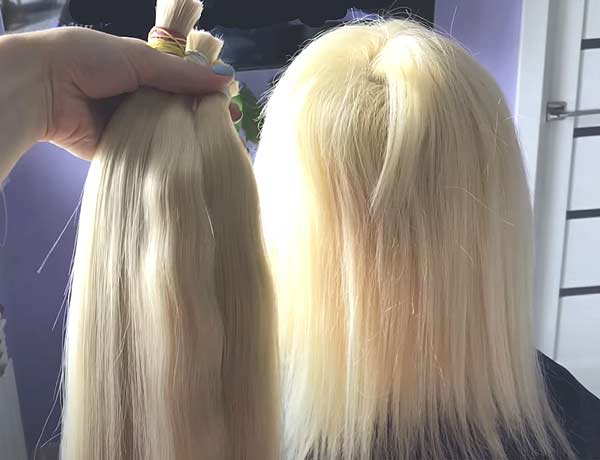 виды наращивания волос фото