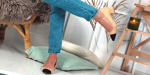С какой обувью носить женские рваные джинсы фото