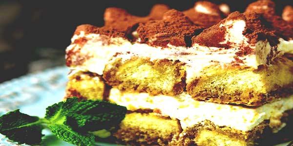 Десерт тирамису фото