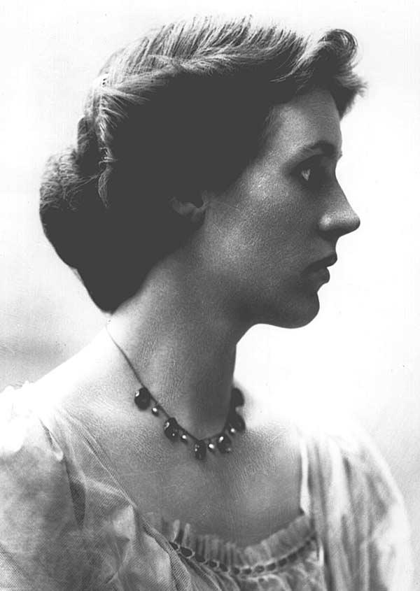 Сестра писателя, художница Ванесса