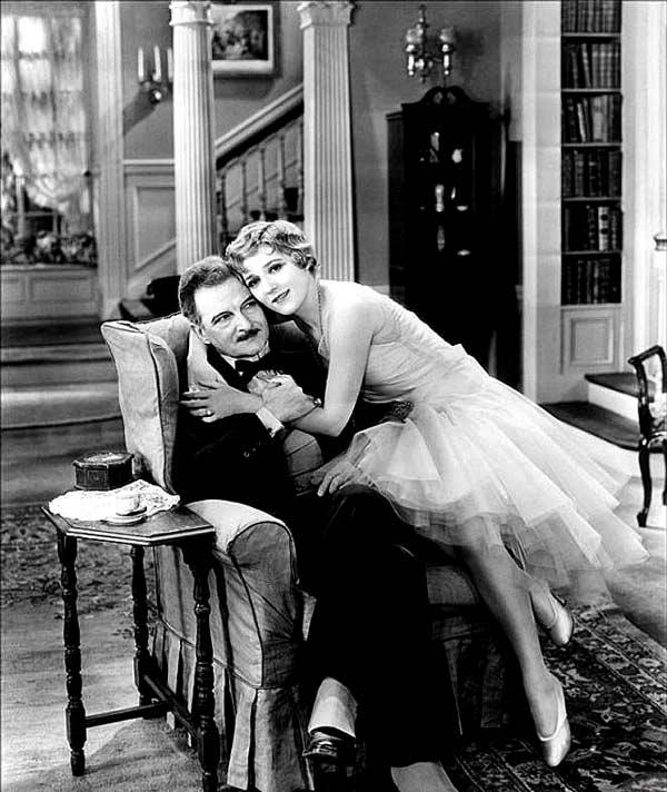 "Кадр из фильма ""Кокетка"" (1929г.)"