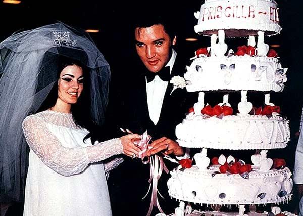 Свадьба Элвиса Пресли и Присциллы Болио