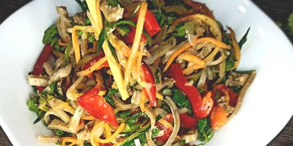 Приготовим салат хе из говядины фото