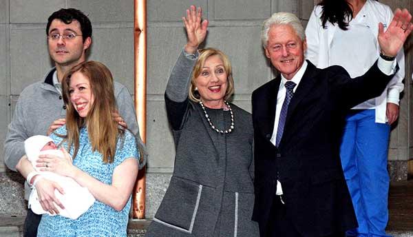 Семейство Клинтонов