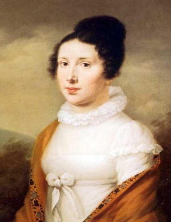 Портрет Елизаветы Рекель